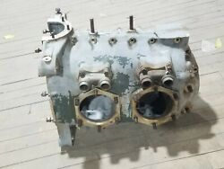 Continental A75 6249 Crankcase Aircraft Replacement Aviation Used For Parts