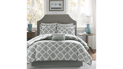 Madison Park Essentials 9pcset Almaden Antimicrobial Complete Reversible Bedding