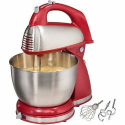 Hamilton Beach Home New Hand And Stand Mixer Beater Egg Dough 2 Day Delivery