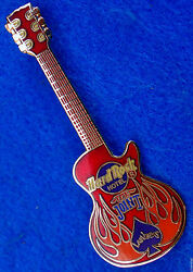 Prototype Las Vegas Hotel Red The Joint Gibson Lp Guitar Hard Rock Cafe Pin