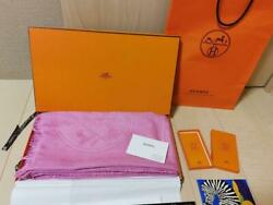 Hermes Official Large Format Stall Rare Pink Silk Interior Collection