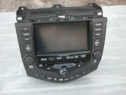 Honda Accord Cl7 Cl9 Ac Climate Heater Control Panel Tv And Navigation Radio