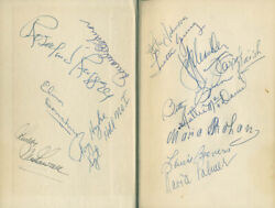 Hattie Mammy Mcdaniel - Book Signed With Co-signers