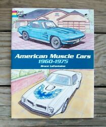 Vintage Antique Classic American Muscle Cars Coloring Book Chevy Ford Mopar