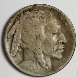 1918/7-d Buffalo Nickel. Natural Uncleaned. Vf. 163336