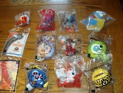 Lot of 12 McDonalds Happy Meal Toys Super Mario TY Toy Story New amp; Sealed