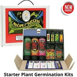 Starter Plant Germination Kits Grow Flower Strong Healthy Plants Food Nutrients