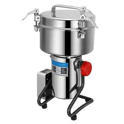 Electric Grain Mill Grinder Stainless Steel Spices Herbs Cereal Coffee Food Mill