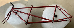 Vintage Ritchey Usa Tandem Bicycle Bike Frame Project
