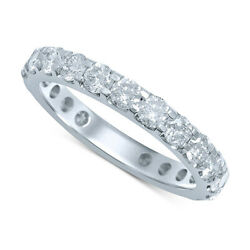 2.00 Cttw Diamond Eternity Band Ring In 14k White Gold Christmas Special
