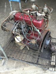 Triumph Spitfire 1969 • Barn Find • Complete Engine Assembly. Runs With Video