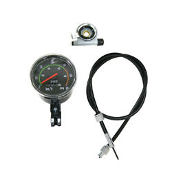Vintage Old Style Speedometer Fits 49cc 60cc 80cc Motorized Bicycle Motor