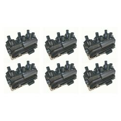 Set-wkp9201079-6 Walker Products Set Of 6 Ignition Coils New For Vw Jetta Passat