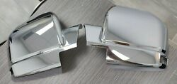 2015-17 Ford F150 Chrome Mirror Covers