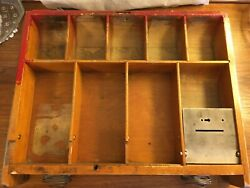 National Cash Register Co 1904 400 Series Signature Rails And Spring