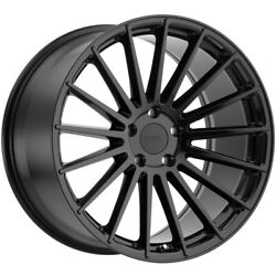 Staggered Tsw Luco Front 20x8.5, Rear 20x10 5x112 Gloss Black Wheels Rims