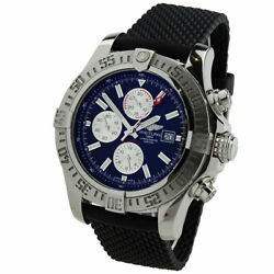 Breitling Super Avenger Ii Stainless Steel Automatic Wristwatch A13371