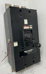 Westinghouse Pcf 2000a Molded Case Switch W/ Aux And Bell Alarm 2000 Amp Pcf32000