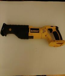 Dewalt Wireless Recharge Reciprocating Saw 18v With Charger And Battery No Blades