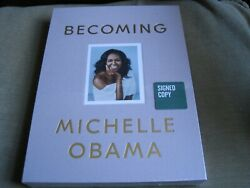 Michelle Obama Signed - Becoming - Limited First Edition New - Barack First Lady
