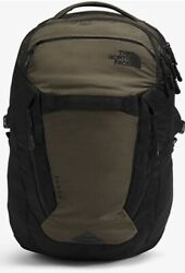 Surge Backpack Taupe Green And Black