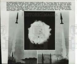 1960 Press Photo The Armyand039s Nike-hercules Is Fired At White Sands Missile Range