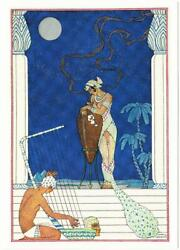Egypt From The Romance Of Perfume By George Barbier Art Postcard