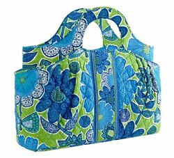 Vera Bradley Abby Tote Purse Satchel Doodle Daisy Nwt Retired New With Tag