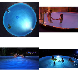Multicolor Underwater Light For Above Ground Pool Led Lighting Automatic System