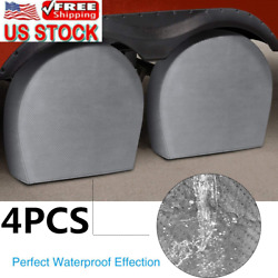 29and039and039-32 Rv Spare Tire Cover Truck Trailer Camper Wheel Covers Universal Us