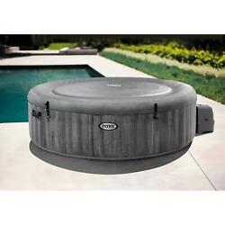 Portable Inflatable Hot Tub Jet Spa 6 Person Wireless Touch Button Control Panel
