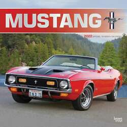 Mustang Calendar 2022 - Transport - Month To View