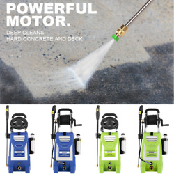 3800psi 3.0gpm 2000w Electric Pressure Washer High Power Cleaner Machine Home Us