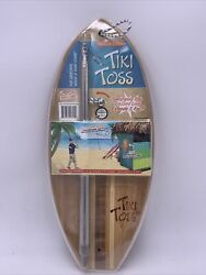 Tiki Toss Original Hook And Ring Game 100 Bamboo - Deluxe Edition New