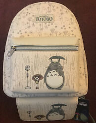 Loungefly My Neighbor Totoro Rainy Busstop Mini Backpack And Matching Wallet Nwt