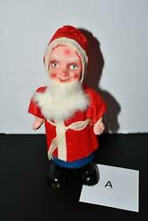 Belsnickle Folk Art Santa Claus Paper Mache A Made In Germany