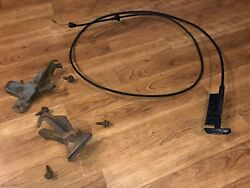 1978 Ford Ranchero Hood Release Cable And Latches Nice