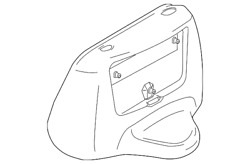 Genuine Ford Motor Cover 4c2z-1510312-aaa