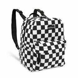 Mini Checkered Backpack for Women and Girls 7.5 x 10 In $15.99