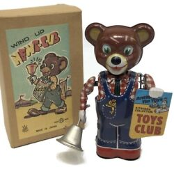 Japanese Vintage Tin Toy, News-cub, Wind-up, Toys Club Collection, Japan