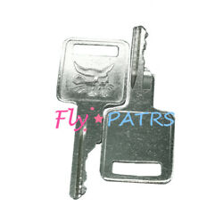 2pc For Bobcat Ignition Key Fits Skid Steer Loaders And Mini Excavators 6693241