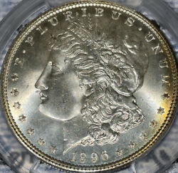 1896 Morgan Silver Dollar Pcgs Ms67 Wow True View Only 48 Pop Higher