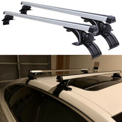 48 120cm Car Top Roof Rack Cross Bar Cargo Bicycle Luggage Carrier Universal