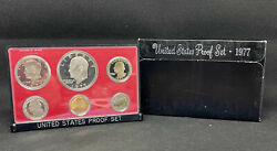 1977-s Proof United States Complete 6 Coin Set, Us Government Packaging With Box
