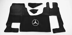 Mercedes Actros Mp4 Smooth Eco Leather Floor Mats + Seat Covers .new
