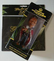 2006 King Of Cannabis Arjan Bobble Head And Sealed Greenhouse Seed Co. Mousepad