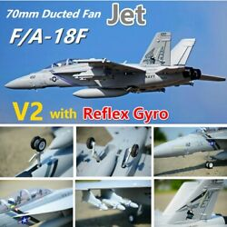 Fms Rc Airplane Super Hornet V2 70mm Ducted Fan Model Plane Aircraft Pnp