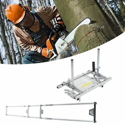 Portable Chainsaw Mill 24-48 Chain Saw Mill Aluminum Steel Planking Lumber