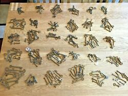 300 X Collection Job Lot Of Old Antique Vintage Keys Padlock Box Small Little B