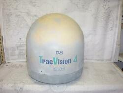 Boatersandrsquo Resale Shop Of Tx 2101 2954.02 Kvh Tracvision 4 Satellite Tv Dome Only